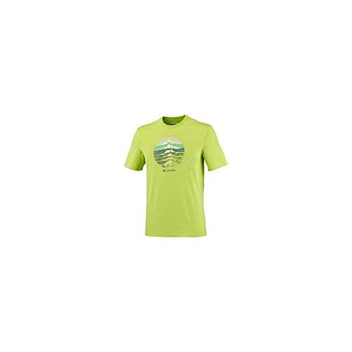 columbia-ccs-mountain-sunset-tee-shirt-verde-l
