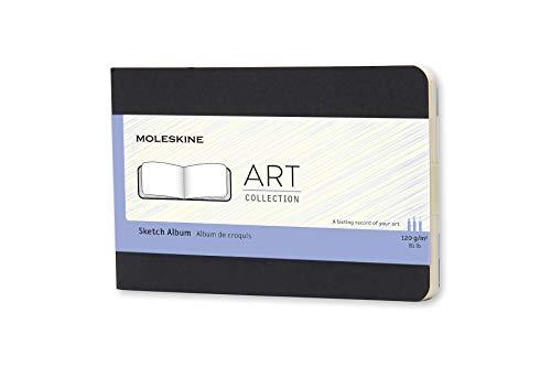Moleskine ArtPlus - Álbum de bocetos (120 g/m2), color negro