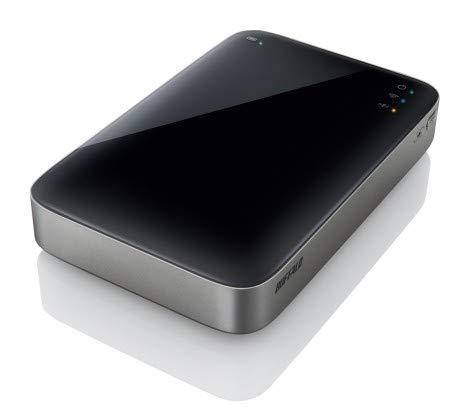 Buffalo MiniStation Air, 500GB **Refurbished**, HDW-P500U3-EU-RFB (**Refurbished**) -