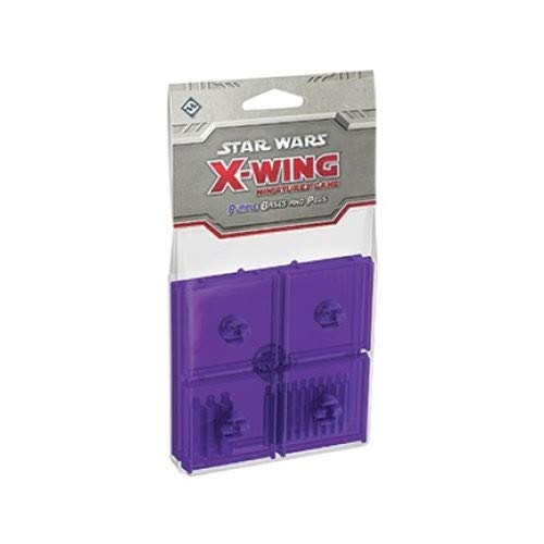 Fantasy Flight Games Star Wars X-Wing Purple Bases and Pegs expansion Pack