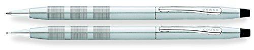 Cross Classic Century Kugelschreiber und 0,5 mm Druckbleistift Set, Satin Chrom