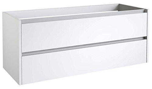 nk Kolkata 31 mit Siphonausschnitt, Farbe: Weiß glänzend - 50 x 120 x 46 cm (H x B x T) ()