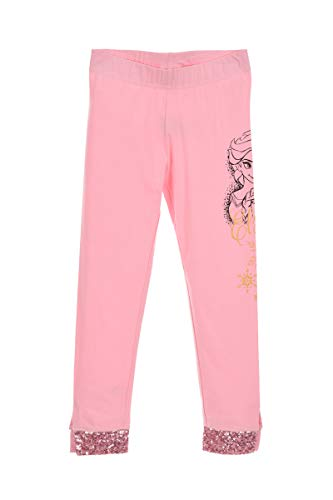 Disney frozen bambine e ragazze pantaloni leggings