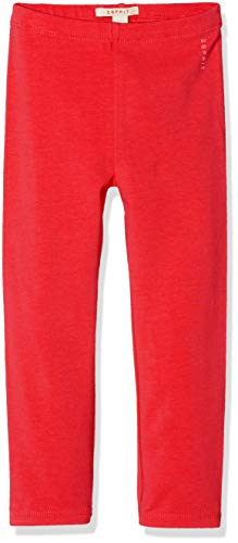 ESPRIT KIDS Baby-Mädchen Leggings, Rot (Pinky Red 357), (Herstellergröße: 86) Baumwolle Baby-leggings