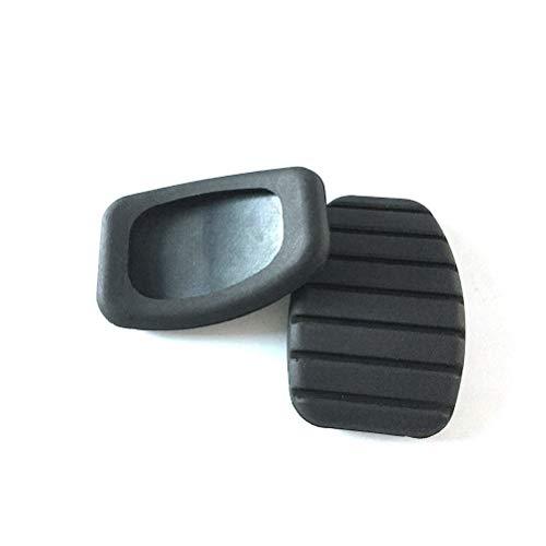 Vosarea Brems-Pedal-Kupplungs-Kupplungs-Bremsbelag für Renault Megane Laguna Clio Kango Scenic CCY (schwarz)