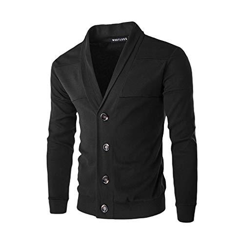 Winter Warme Pullover Strickjacke Button Strickpullover Bluse Tops Outwear ()