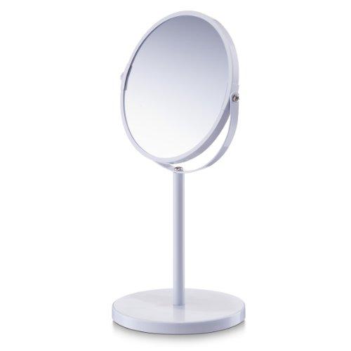 Zeller 18704 Kosmetikspiegel, 1x/3x, ø15 x 35 cm, weiß
