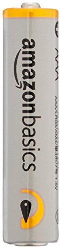AmazonBasics - Pile Mini Stilo Alcaline AAA Performance, confezione da 8