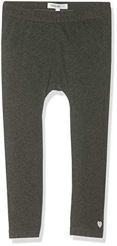 Noppies Baby-Mädchen G Cheverly Leggings, Grau (Charcoal Melange P206), (Herstellergröße: 62) Baumwolle Baby-leggings