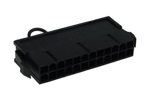 Phobya 0 ATX-Bridging (Jumper) Plug (24 Pin) - Black WaterCooling Pompe