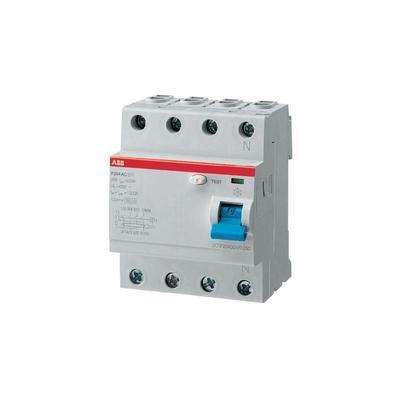 ABB 2CSF204101R1250 FI-Schutzschalter 4polig 25A 0.03A 230 V/AC, 400 V/AC