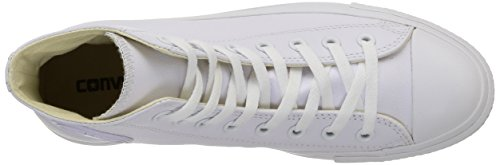 Converse Herren All Star Hi Leather Hausschuhe Weiß (Blanc)