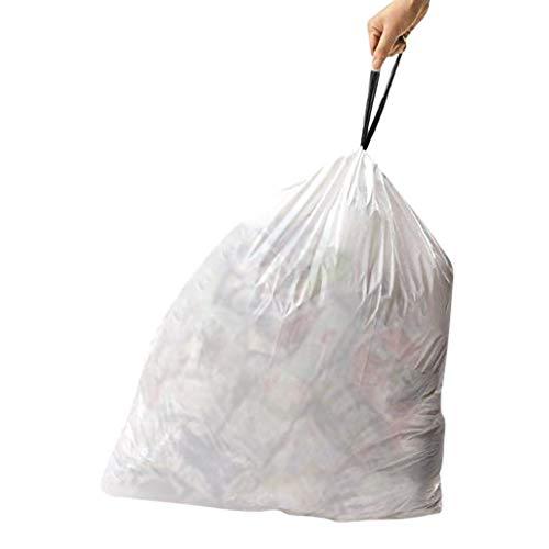 reinigen Hohe Küche Kordelzug Starker Müllbeutel 30 Gallonen Müllsäcke Kein Geruch ist Nicht leicht zu brechen, dauerhafter und umweltfreundlicher (Grau) ()