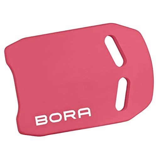 BoraSports Premium Schwimmbrett - Kickboard ideal für Schwimmübungen & Training (Rot)