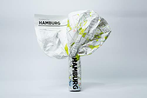 Crumpled City: Hamburg. Soft city maps for urban jungles (Crumpled City Maps)