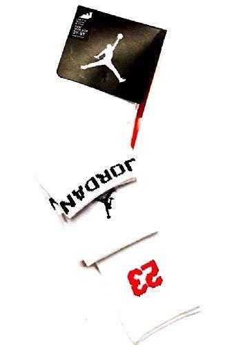 Preisvergleich Produktbild Nike Air Jordan 3 Pack Athletic Low Cut Ankle Crew Socken 7-9 3y-5y weiß