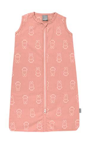 Nijntje Miffy Sommerschlafsack mit Reißverschluss, 110cm. Farbe Pfirsch Rosa