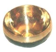 Peter Hess products® Bengali Klangschale (Gold) 45 mit einfachem Schlägel