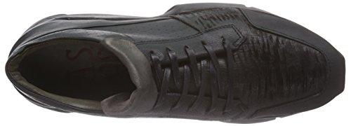 A.S.98  754102, Sneakers basses femmes Noir - Noir