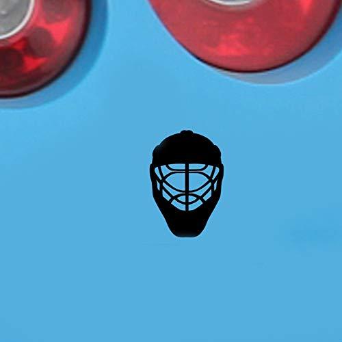 3d aufkleber auto 20 Cm X 14 Cm Autozubehör Jdm Sport Eishockey Helm Auto Aufkleber Für Stoßstange Fenster Lkw Decor 13 Farben