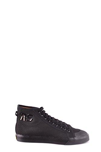 uk availability 3ba65 e497a Adidas by RAF Simons Hombre Mcbi009061o Negro Tela Zapatillas Altas