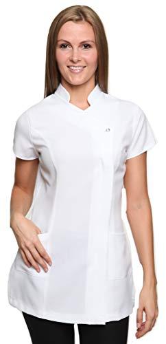 Damen Berufsbekleidung Kasack Freya Weiß Gr. - Kosmetikerin Kostüm