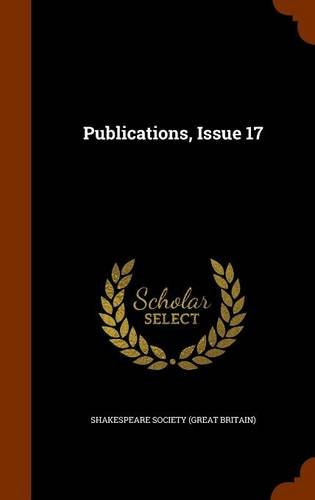 Publications, Issue 17