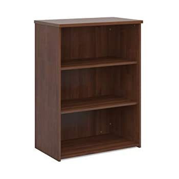 walnut Mr Office Universal bookcase 2140mm high with 5 shelves
