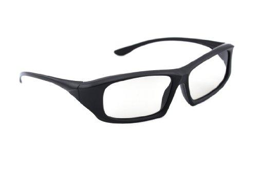 3D Brille Universale passive 3D Brille schwarz für Cinema 3D LG, Easy 3D Philips, Panasonic, Toschiba, Grundig und RealD Kinos NEU von der Marke PRECORN