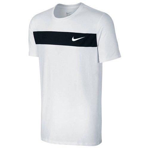 Nike Herren Avenue Jdi T-Shirt weiß/Schwarz