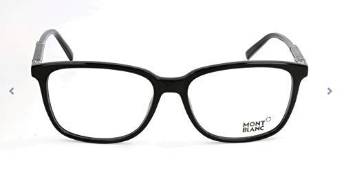 Montblanc MONT BLANC Herren Mb0620 Brillengestelle, Schwarz, 57