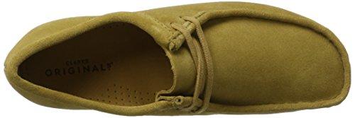 Clarks Originals Wallabee, Chaussures à Lacet Homme Brun (Dark Ochre Sde)
