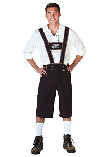 Plus Size Lederhosen Kostüm - 3X