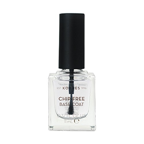 Korres Sweet Almond Nail Colour BASE COAT,1er Pack (1 x 11 ml) (Ys Bio)