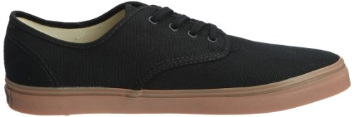 Vans Madero, Baskets mode mixte adulte Noir (Black/Gum)