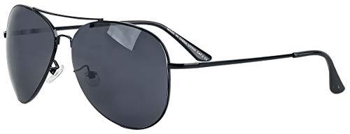 Unbekannt Pilotenbrille Sonnenbrille schwarz