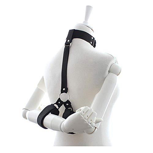 GPZN Kragen Handschellen Bündel Krawatten Flirt Einstellbare Sm Halskette Gebundene Hände Nylon Material Abnehmbare Paar Sex Toys -