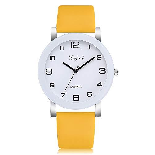 Uhren Damen Casual Quarz Lederband Uhr Frauen Leisure Sportuhr Business Watch Leisure Sportuhr Analog Leather Uhr Uhrenarmband,ABsoar