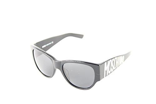 Moschino Damen MO-851S-01 Sonnenbrille, Schwarz (Black), 56