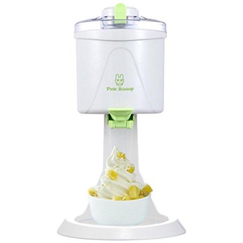 DZW Ice Cream Maker, Fruit Dessert Maker, Sorbet & Frozen Joghurt Machine, DIY 1 l große KapazitätQualität