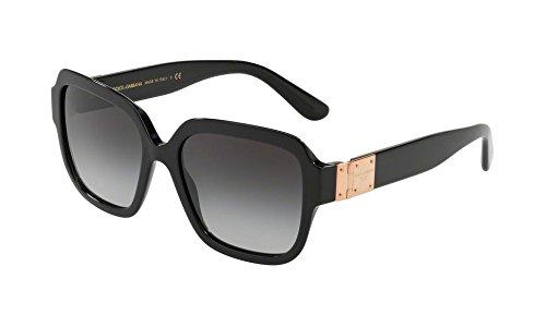 Ray-Ban Damen 0DG4336 Sonnenbrille, Schwarz (Black), 56