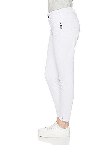 Angelica Elyse, Skinny Jeans Donna Weiß (White Eut609)