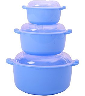 Regalo Serving Casserole Bowl Set -3 Pots