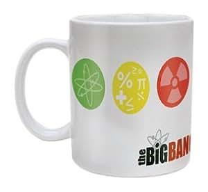 The Big Bang Theory Symbols Tazza ceramica