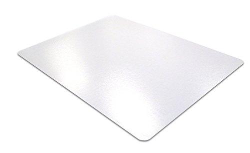 Protector de escritorio rectangular de policarbonato Desktex de 48 x 61cm con parte trasera antideslizante, transparente 48 x 61 cm