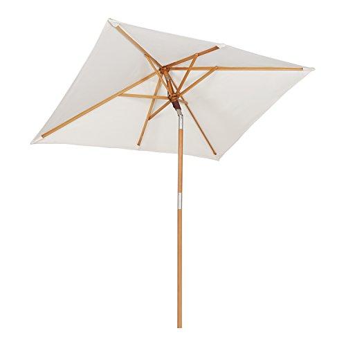 Sehr Amazon.de: Sekey 200 × 150 cm Holz-Sonnenschirm Marktschirm UL09