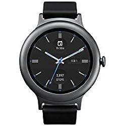 LG Electronics LGW270.AUSATN - Reloj Inteligente para LG con Android Wear 2.0 (Titanio, versión de EE. UU.)