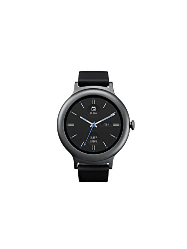 LG Electronics LGW270.AUSATN LG Watch Style Smartwatch with Android Wear 2.0 - Titanium - US Version