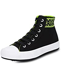 GET GLAMR Women's Black Sneakers (Get (Get-2438) - 5 UK