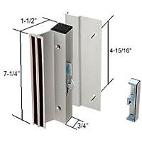 CRL Sliding Glass Patio Door Handle Set,